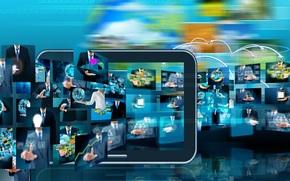 hi-tech, grafika, biznes, Technologia