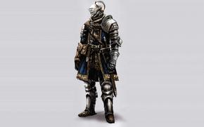 темные души, доспех, рыцарь