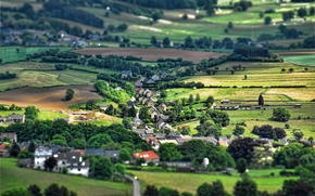 Belgium, effect, village