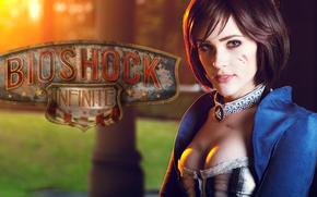 Bioshock, Bioshock Infinite, Elizabeth, Cosplay, Eve Beauregard, Spiele
