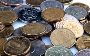 monedas, Metal, Rublo, dinero