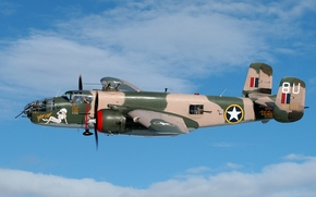 USA, bomber, two-engined, five-