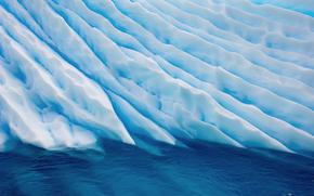 вода, север, холод, льды