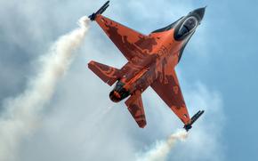 """sky, multi-purpose, fighter, """"Fighting Falcon"""""""
