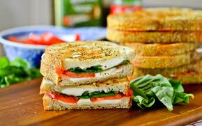 сэндвич, хлеб, бутерброд