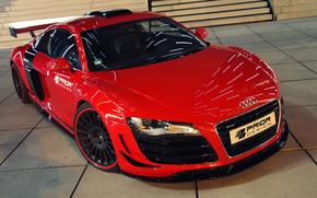 Audi, приор-дизайн, передок, тюнинг, суперкар