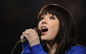 schiocco adolescente, pop, microfono, Pop-Rock, Cantante canadese, Carly Rae Jepsen