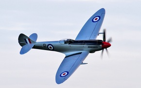 British fighter, sky, plane, flight