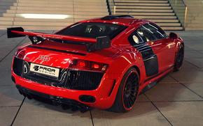 Audi, задок, машина