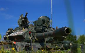 танк, бронетехника, боевой, дуло