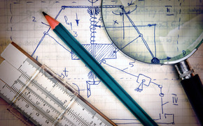лупа, расчеты, теоретическая механика, математика, тетрадь, сопромат, а неученье тьма, ученье свет, теормех, высшая, карандаш, логарифмическая линейка