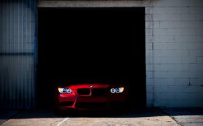 BMW, garage, Machine, FEUX, BMW