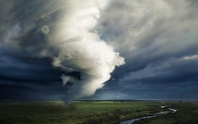 river, PLAIN, greens, tornado, hurricane