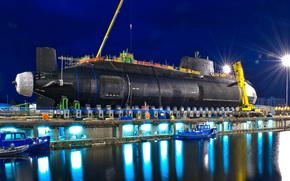 Atom-, MLC, Unterwasser, Schiff, Anlegeplatz, Andere Maschinen und Anlagen