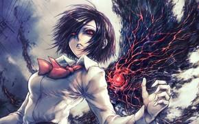 Geist, Tokio potwór, dziewczyna, Sztuka, oczy, Ghul Tokio