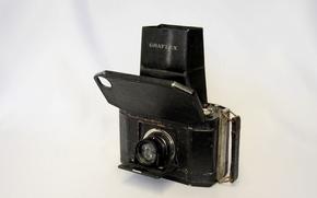 объектив, корпус, фон, фотоаппарат, раритет
