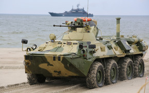 armored troop-carrier, Corps, Combat, machine
