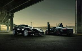 Суперкары, Автомобили