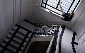 はしご, 手すり, ウィンドウ