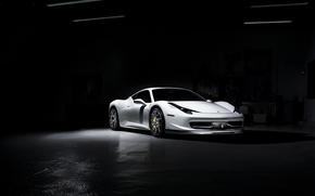 Italy, ferrarri, Ferrari, light, white