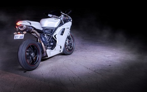Ducati, back view, motorcycle, Beaton, motorcycles