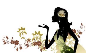 silhouette, sfondo