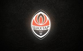 logo, Deporte, Shakhtar, fondo, negro, logo, fútbol