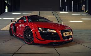 Audi, блеск, передок, машина