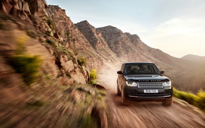 machine, Land Rover, land, in motion, sky, SUV