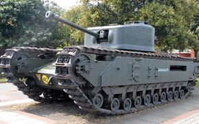 пехотный, бронетехника, танк, «Черчилль»