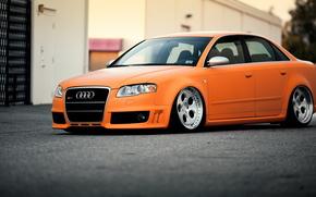 ауди, тюнинг, автообои, Audi