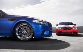 Himmel, Hotspot, red, Schatten, BMW, BMW, blau, Wolken