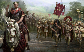 Rome, Total war, legionary