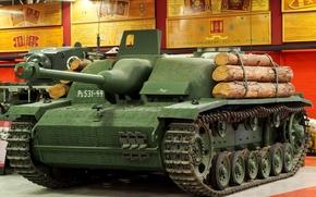 German self-propelled artillery, installation, German, Assault