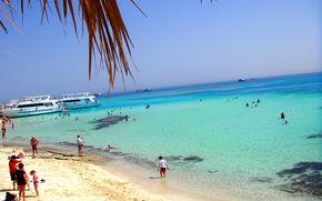 Egitto, Paradise island, mare