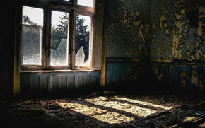 mold, room, ROOM, devastation, abandonment, light, window