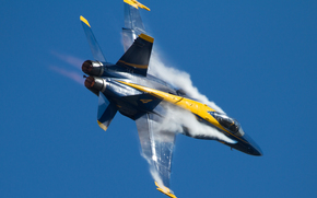 aviation, smoke, plane
