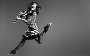 violin, flight, Lindsey Stirling