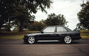 tuning, BMW, BMW, profile, black