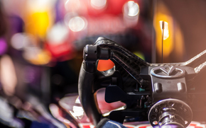 blur, driving, steering wheel, Car, car, racer, bokeh, different, this, machine, Macro, car, performs, panel, over, operations, Management