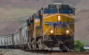 pociąg, Szyny, Inne maszyny i urządzenia, popędzać, samochody, lokomotywa