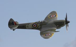 ВВС Великобритании, английский истребитель времён Второй мировой войны, Супермарин Спитфайр