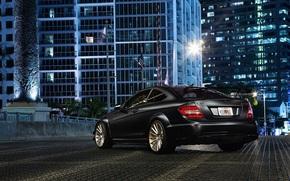 Mercedes, edificio, ciudad