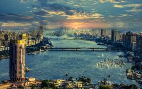 Neil, Egypt, river, Cairo