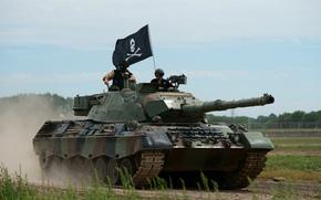бронетехника, боевой, танк