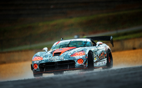 Drift, Viper, rain, Sport, Skid, dodge