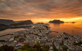 Aksla, alesund, Norvège