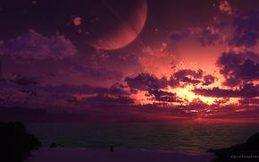 планета, вселенная, космос