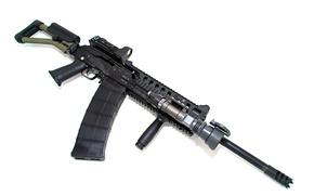 pistola, carabina, semi-automático