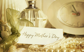 Mother's Day, congratulation, pearl, SPIRITS, watch